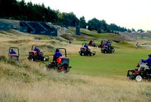2015 U.S. Open at Chambers Bay / Behind-the-scenes photos of the Chambers Bay grounds crew and volunteers getting the course ready for play