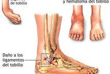 Enfermedades y lesiones / Una muestra de las lesiones más habituales