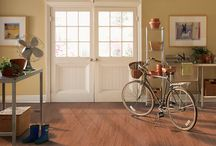 Mohawk Prospects Vinyl Plank / Mohawk Prospects vinyl plank collection brings out the warm, traditional look of hardwood floors in a resilient form so you can enjoy the beauty of wood floors without the maintenance that goes along with.  Perfect for wet areas and rental properties.