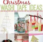 Washy tape / Cards using washy tape