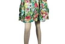 Cotton Mini Skirts