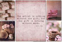 Inspiration - Soft pink