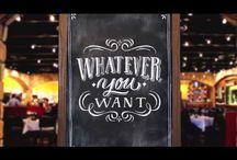 Chalkboard lettering / by Crystal Hunt