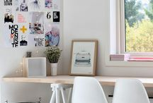 Office and Writing Space / Out of this world office spaces and wonderful writing vignettes.