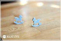 Magnesy na lodówkę / http://magne-sowa.blogspot.com/