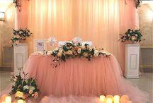Свадьбы декор