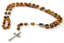 Rosay Beads / Rosary Beads from the Holy Land. These rosary beads are sold by Yardenit Gift Shop, at http://www.yardenit.com/