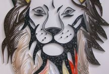 quilling animales y naturaleza