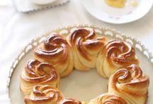 Beautiful sweet dough