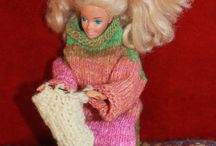 Knitted barbies / Judy's knitted barbies