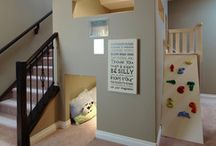 Where Kids can be Kids / Inspiration for kids playrooms, in or out of the bedroom.