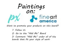 Paintings on Fine Art America / A board dedicated to the beautiful paintings that can be found and purchased on Fine Art America. Paintings on this board may include, landscape, nature, abstract, modern, contemporary, and more. Please only post items and links to the painting from Fine Art America. All others will be removed. *Porn and violence will not be tolerated, you will be band from all of our boards.
