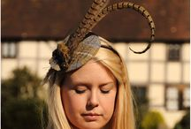 Tweed & Pheasant Feather Headpieces / Elegant and unique, stylish headpieces for that special occasion
