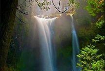 Nature pictures / Images of nature. Lakes, mountains, islands. Képek a természetről. Vizek, hegyek, szigetek.