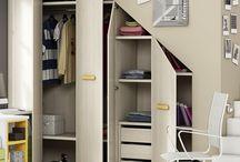 closet debajo de las escaleras