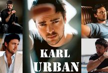 Karl Urban / by The Musings & Gleanings of a Sci-fi Chick