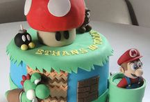 Mario Luigi cakes