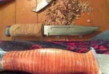 набор рукояти на нож