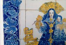 Azulejos de Marta Day .  Serie: Imagineria.
