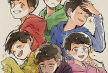 Matsuno Stories / I love Osomatsu-san and their characters, so I want to have art about them.