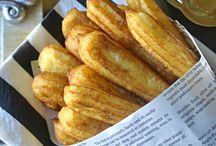 Churros de patata y queso