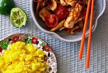 Malaysian dishes