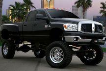 Lifted trucks:$