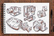 Dibujos croquis / Buenos croquis y tecnicas de dibujo