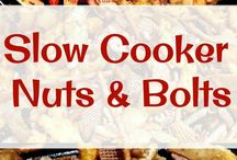 Nuts and bolts recipes