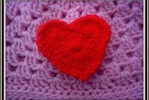 Crochet Flowers, Hearts & more / Find all the video tutorials of my crochet flowers, hearts and more here. Some have free written patterns!