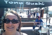 Swimming in Sushi! / by Addie Gaines