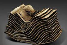 ceramic contemporary Japan or asian   (mainly stoneware) /  céramique japonaise  ou asiatique contemporaine  (grès principalement)