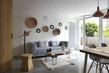 Appartement A / Appartement A  Studio Margaux Beja vous présente le réaménagement d'un petit appartement en plein coeur de Paris. 30m2 tourné vers une terrasse extérieure.