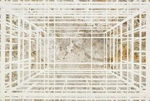 drawings - abstract with architectural connotation