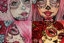 Day of the dead / by Garnet Aquarius♒