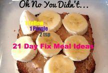 21 day fix, recipes