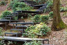 Лестницы на участках