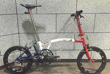 Brompton cykel