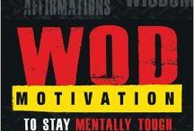 WOD Motivation / WOD Motivation - An inspirational book for people who love to WOD!  www.wodmotivation.com