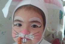 Face painting, make up, costumes