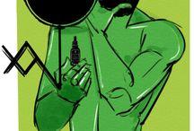 Ego Rodriguez Illustrations / Ego's illustrations for The English Beard Oil Company
