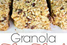 Sweet treats / Bliss balls, slices, muesli bars, granola bars, homemade chocolate