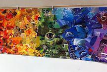 Colour/Rainbow Art Projects