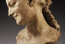 Female Portrait Sculptures