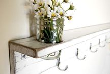 Hooks by the front door ideas!!