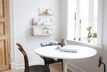 Eclectic eating spaces