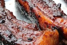 Food cannon pork ribs