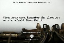 Ecriture (writing prompts)