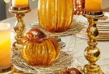Pumpkins and fall stuff