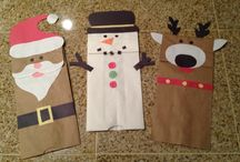Kinder Weihnachtszeit